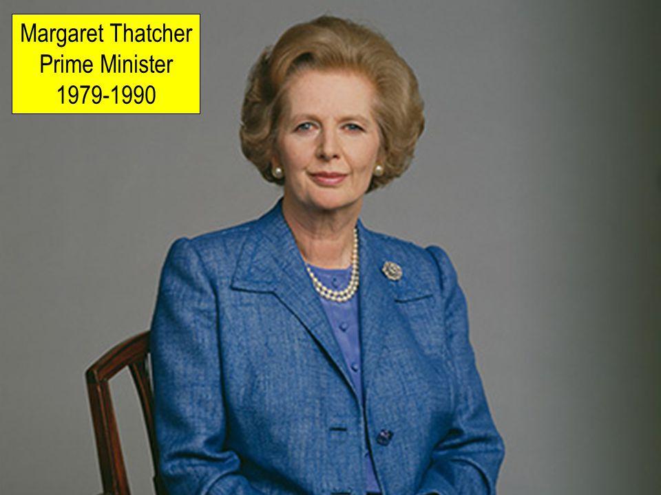 Margaret Thatcher Prime Minister 1979-1990