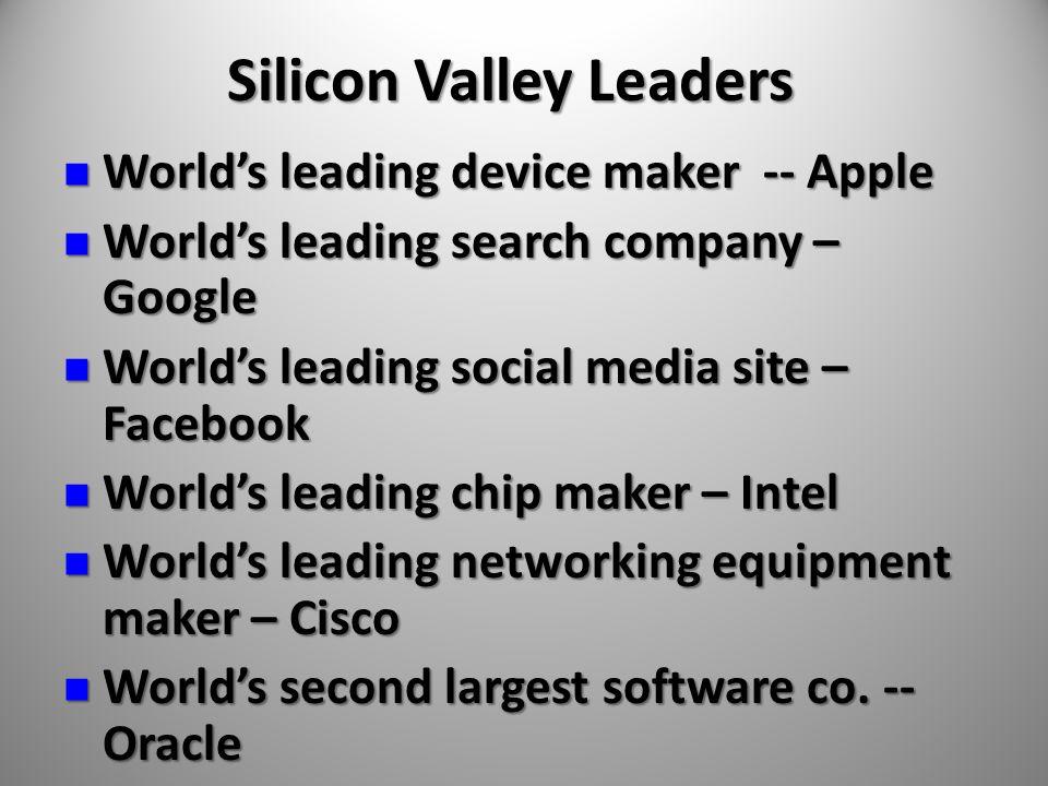 World's leading device maker -- Apple World's leading device maker -- Apple World's leading search company – Google World's leading search company – G