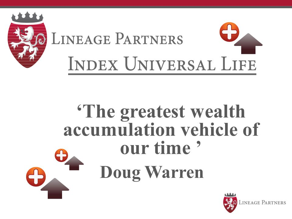 'The greatest wealth accumulation vehicle of our time ' Doug Warren