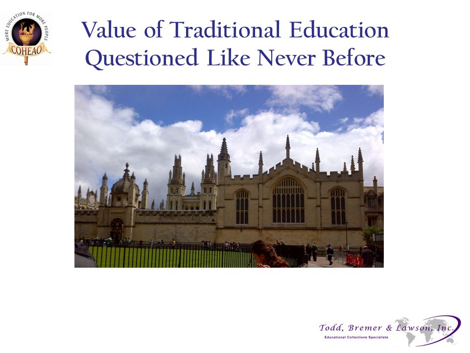 Value of Traditional Education Questioned Like Never Before