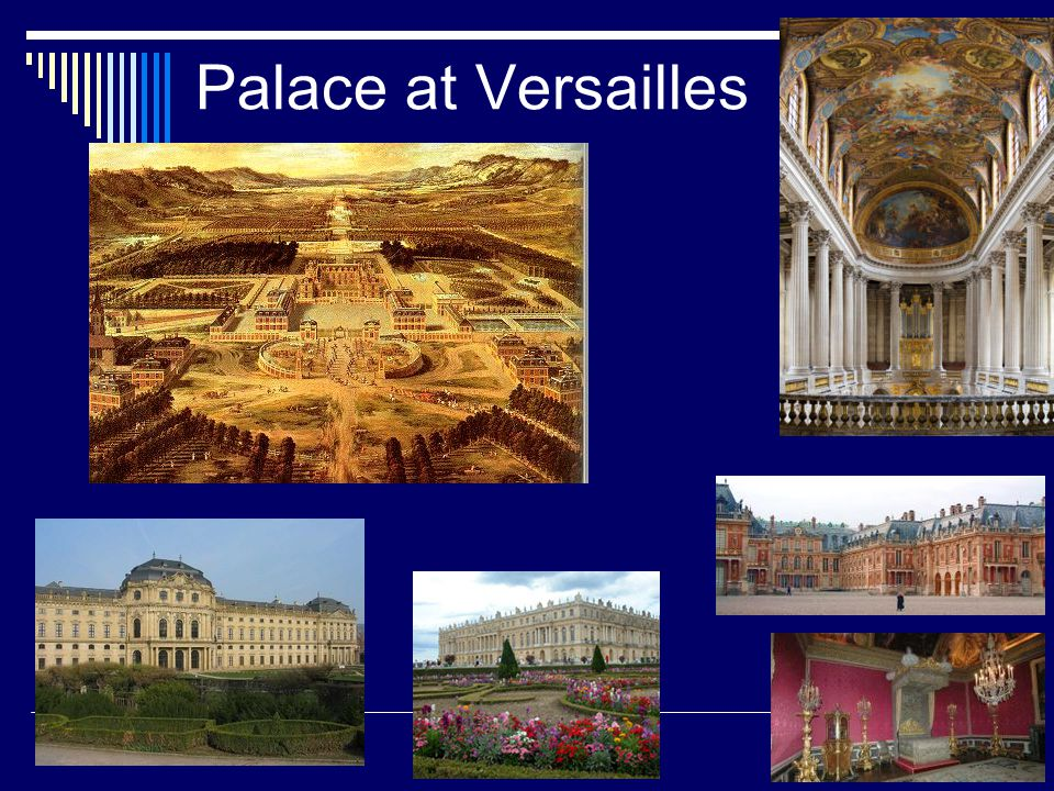 Palace at Versailles
