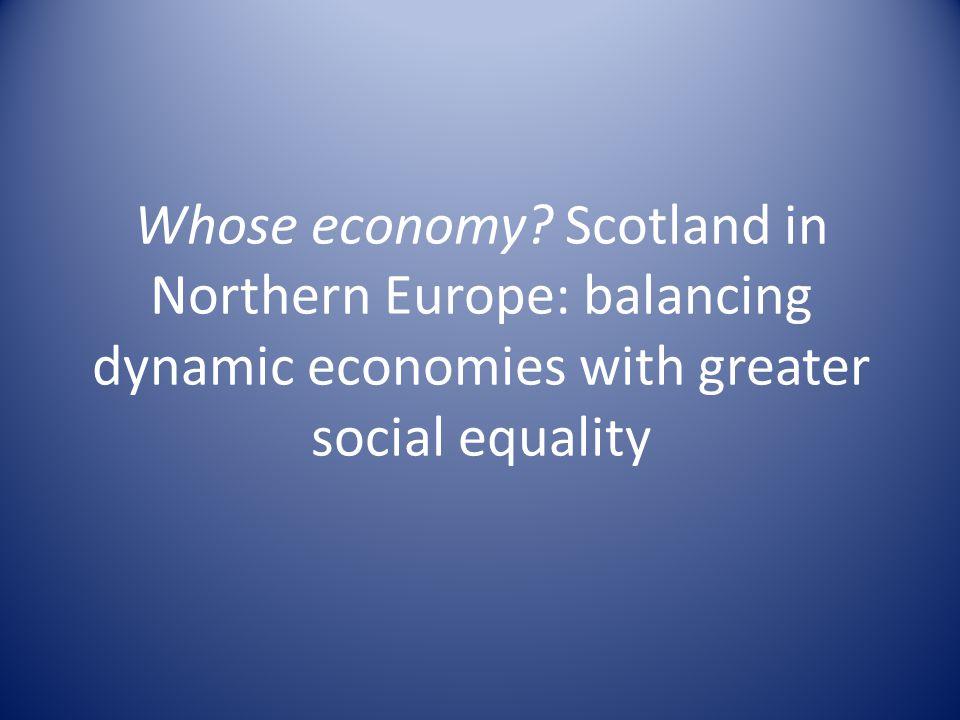 Whose economy.