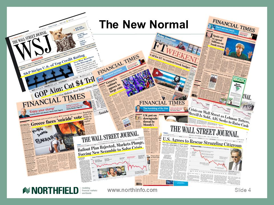 www.northinfo.com The New Normal Slide 4