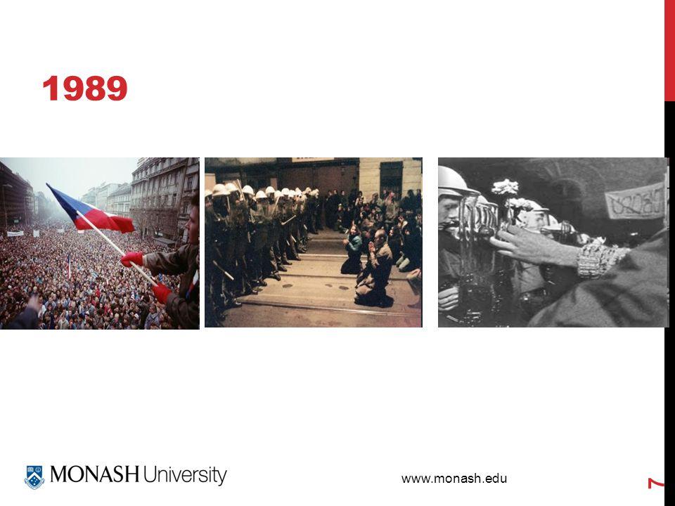 www.monash.edu 1989 7