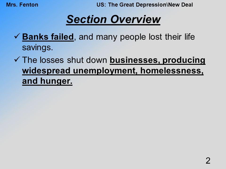 Mrs.FentonUS: The Great Depression\New Deal Supreme Court In United States v.