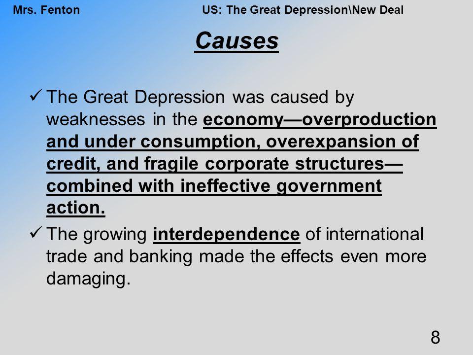 Mrs.FentonUS: The Great Depression\New Deal Trickle Down vs.