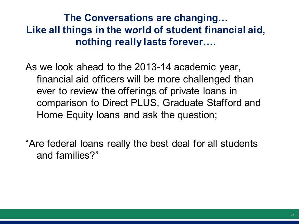 66 Why Borrow Beyond Stafford Loans.