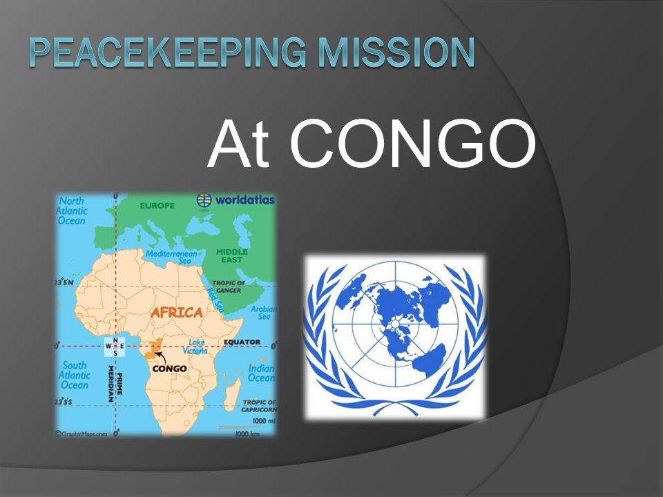 At CONGO