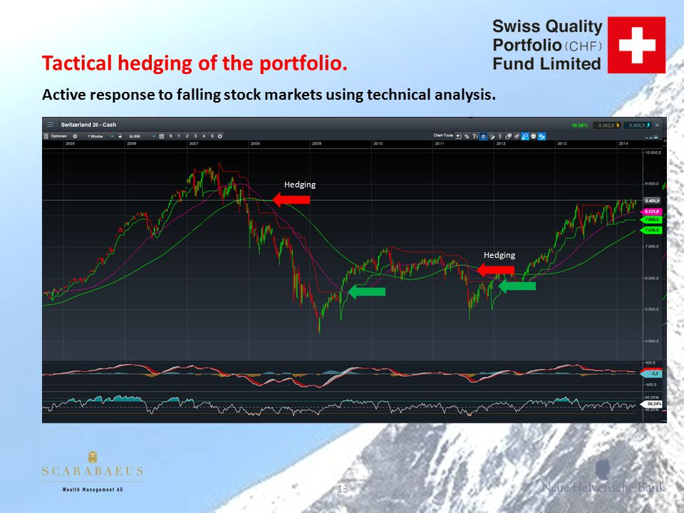 13 Tactical hedging of the portfolio.