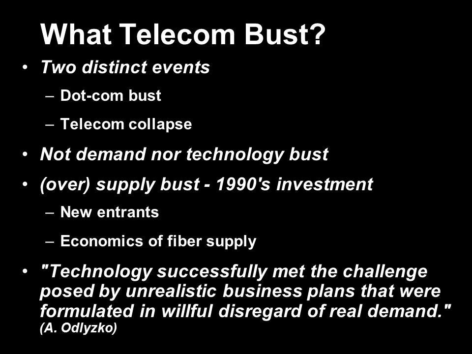 What Telecom Bust.