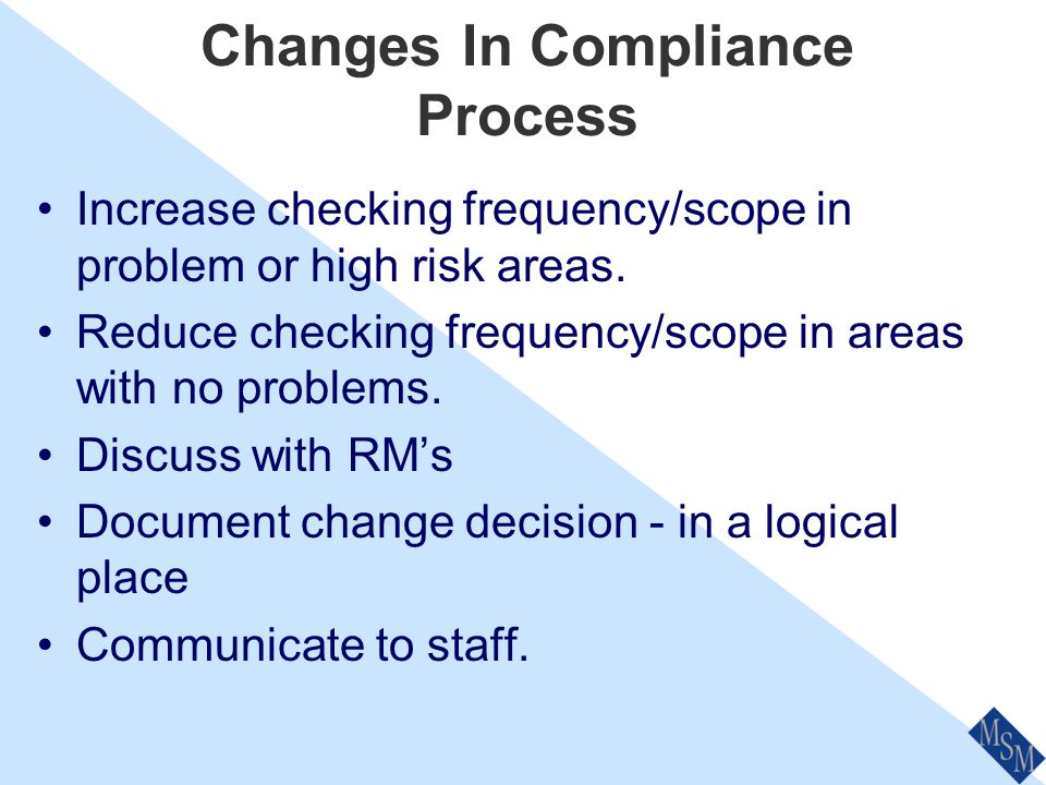 Compliance Officer Roles Complete checklists/tasks as required Document work, complete Breach Register Advise ASIC of significant breaches Promote / R