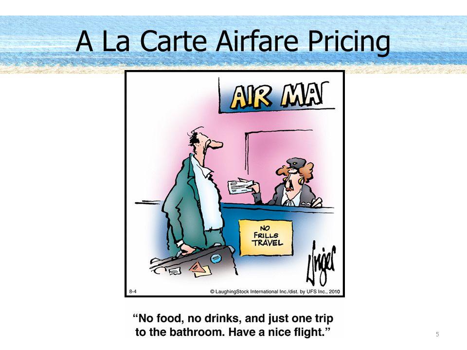 5 A La Carte Airfare Pricing