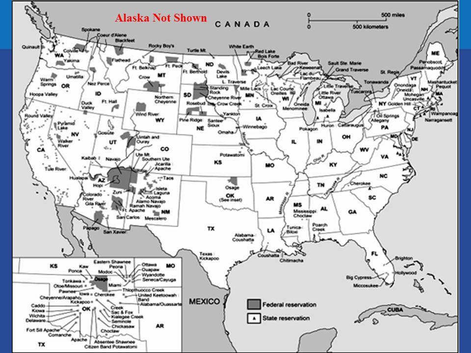 Alaska Not Shown