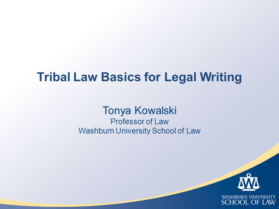 What are American Indian Tribes & Tribal Law?