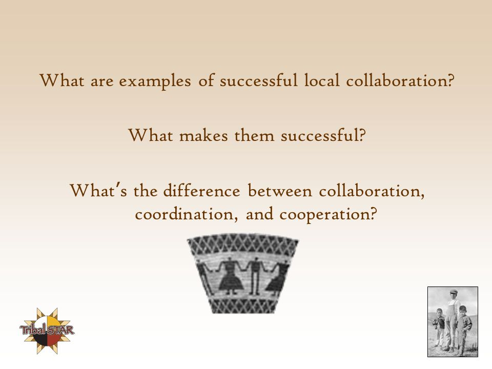 What are examples of successful local collaboration.
