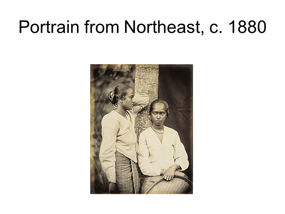 Portrain from Northeast, c. 1880