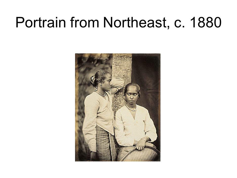Portrain from Northeast, c. 1880