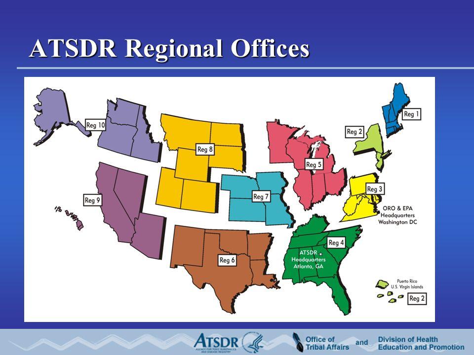 ATSDR Regional Offices