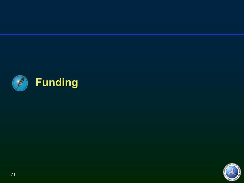 71 Funding
