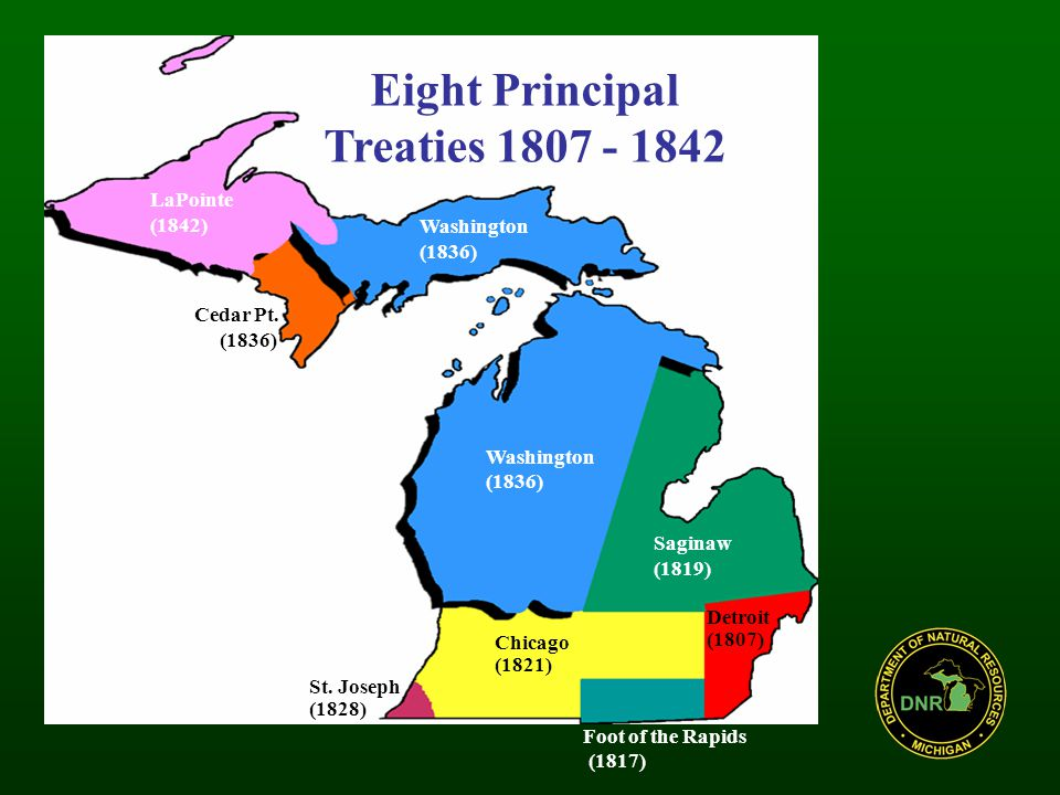 Inland Negotiations: Parties State of Michigan Five Tribes –Bay Mills Indian Community –Sault Ste.