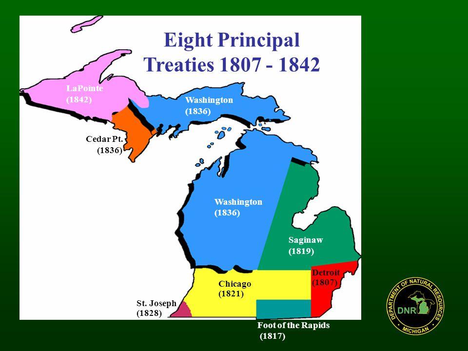 LaPointe (1842) Washington (1836) Washington (1836) Cedar Pt.
