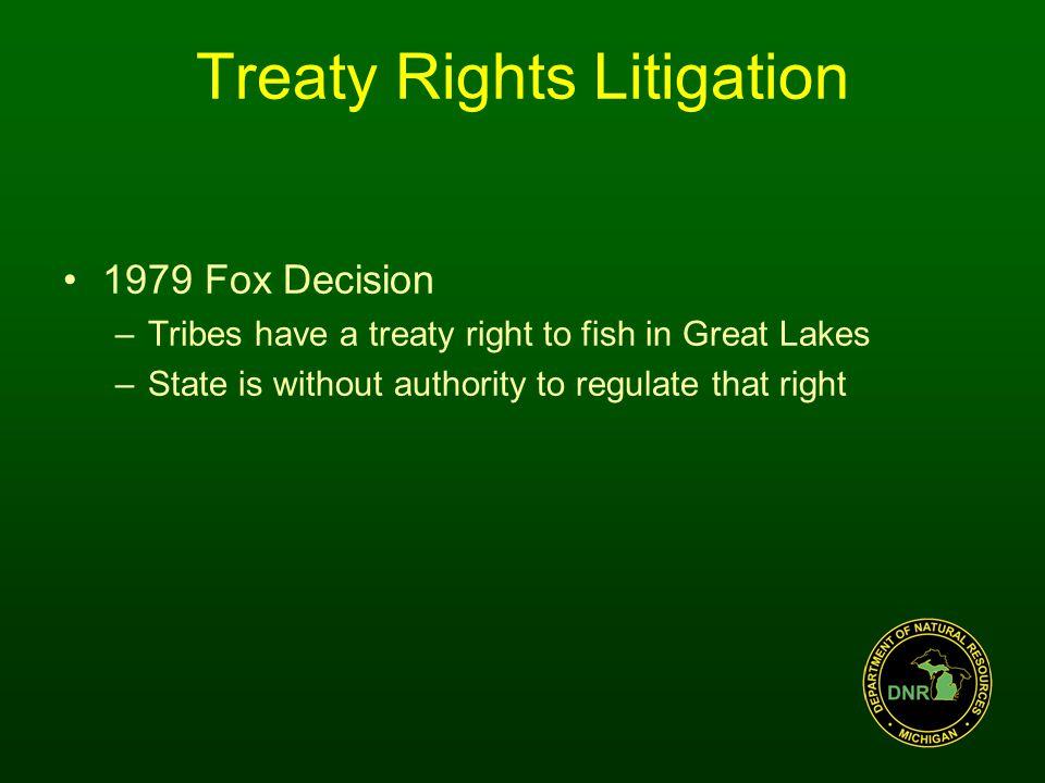 Treaty Rights Litigation U.S.