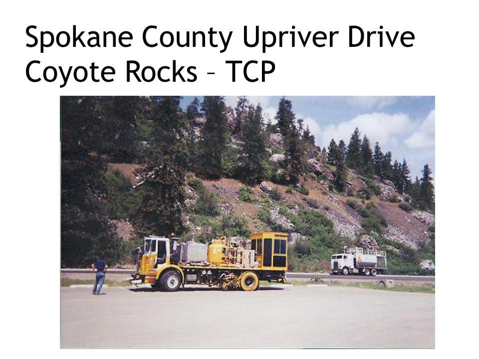 Spokane County Upriver Drive Coyote Rocks – TCP