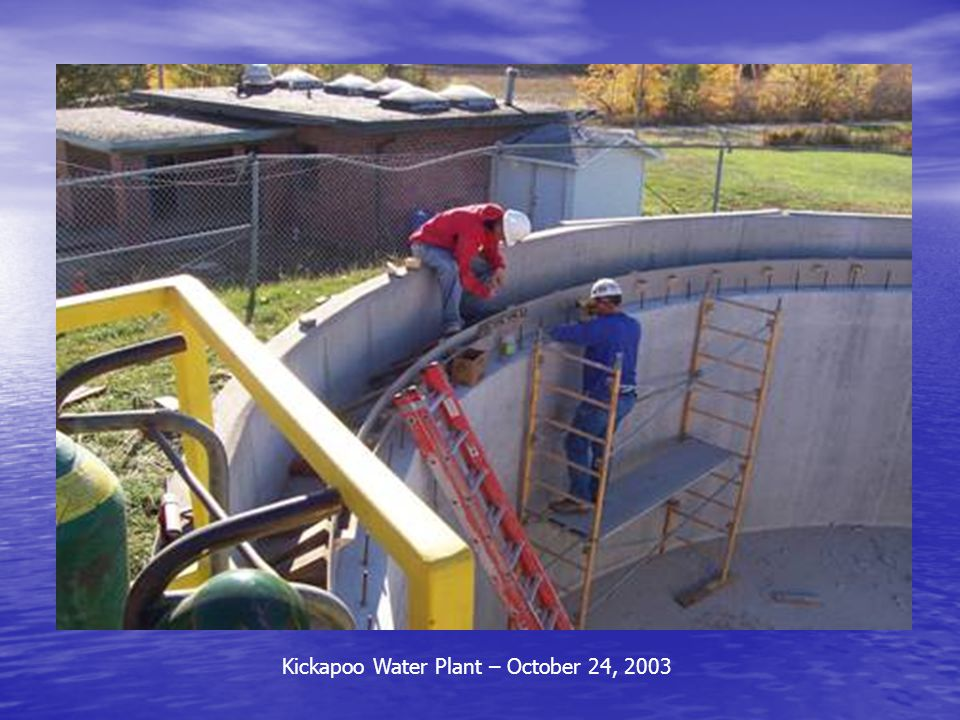Kickapoo Water Plant – October 24, 2003