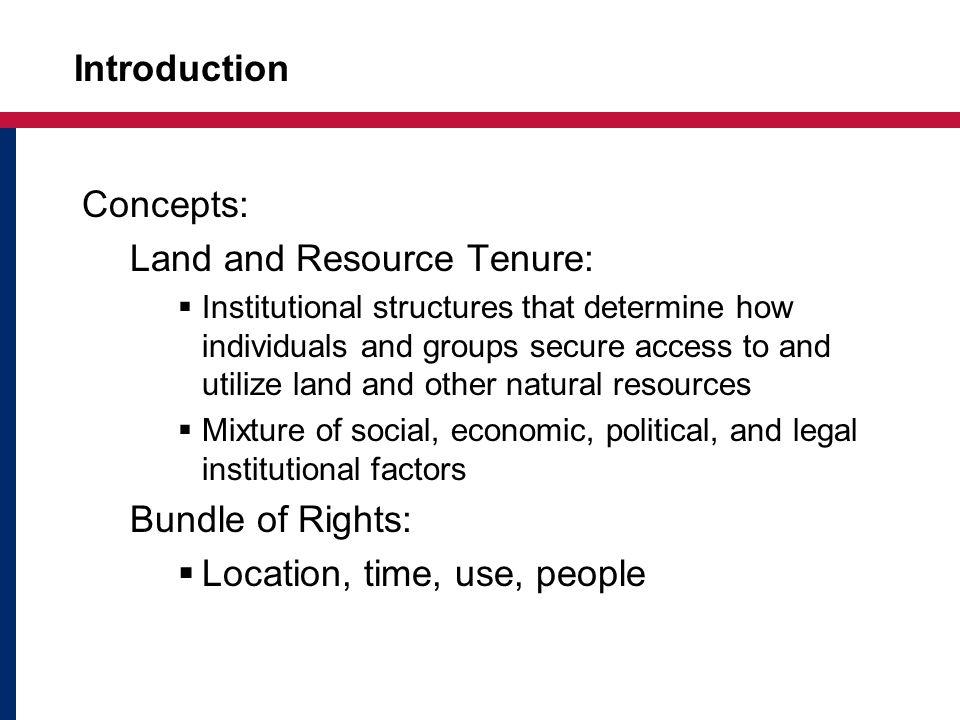 Security of Tenure Tribal Certificate