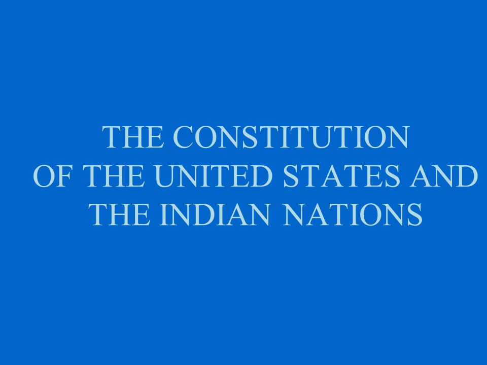 TRIBAL SOVEREIGNTY and the ADMINISTRATION OF JUSTICE Tribal Governments as Independent Sovereigns - Talton v.