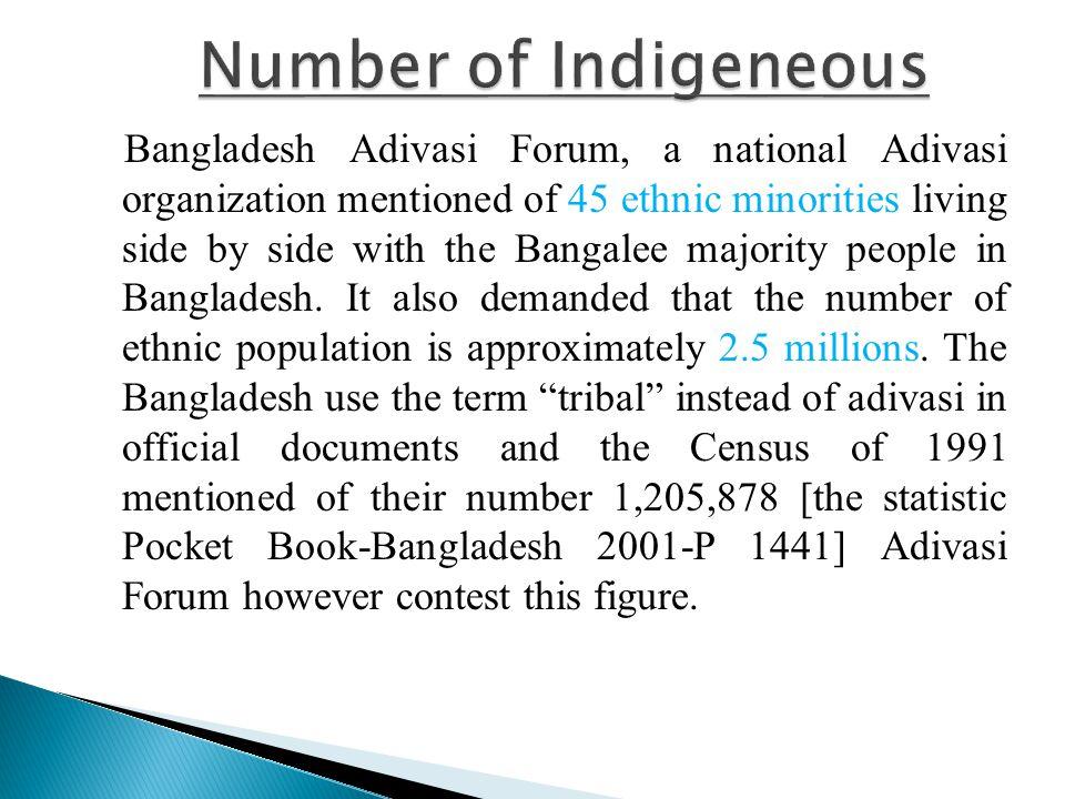 Adivasis of Bangladesh live scattered all through Bangladesh.