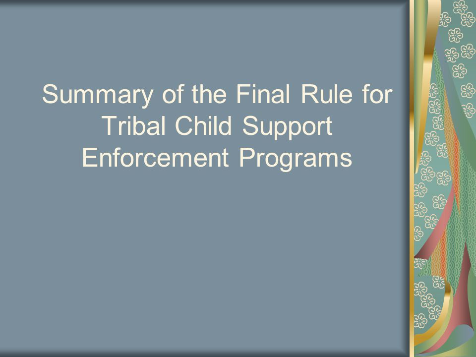 Subpart D—Tribal IV-D Program Funding Any funds that remain unobligated at the end of the budget period for which they were awarded will be returned to the Department of Health and Human Services (HHS) §309.135