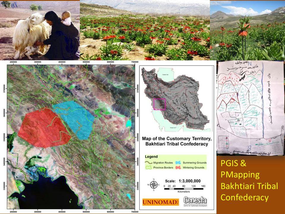 PGIS & PMapping Bakhtiari Tribal Confederacy