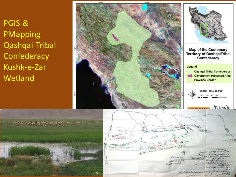 20 PGIS & PMapping Qashqai Tribal Confederacy Kushk-e-Zar Wetland