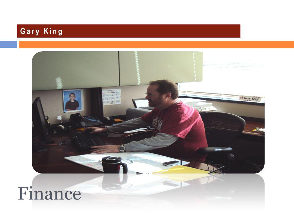Finance Gary King