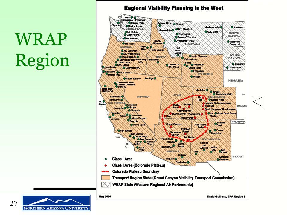27 WRAP Region