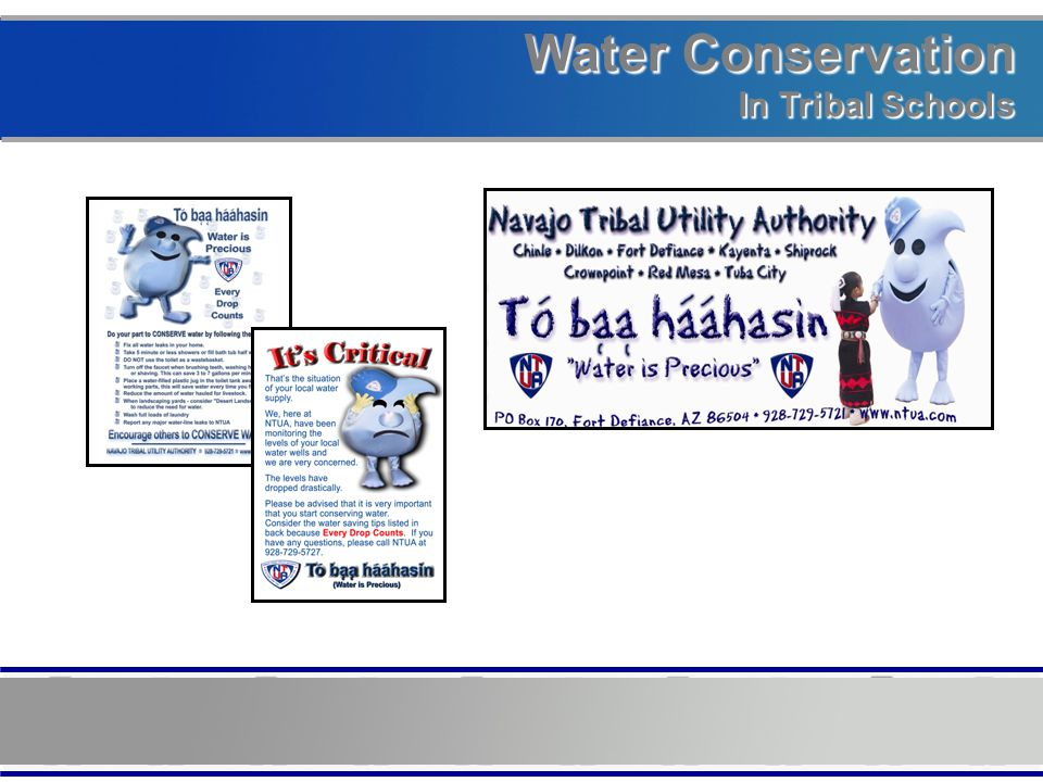 Water Conservation In Tribal Schools