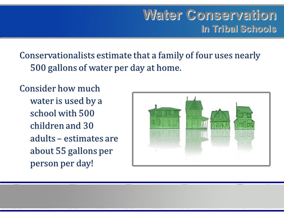 Water Conservation In Tribal Schools Deenise Becenti, Public Affairs Navajo Tribal Utility Authority P.O.