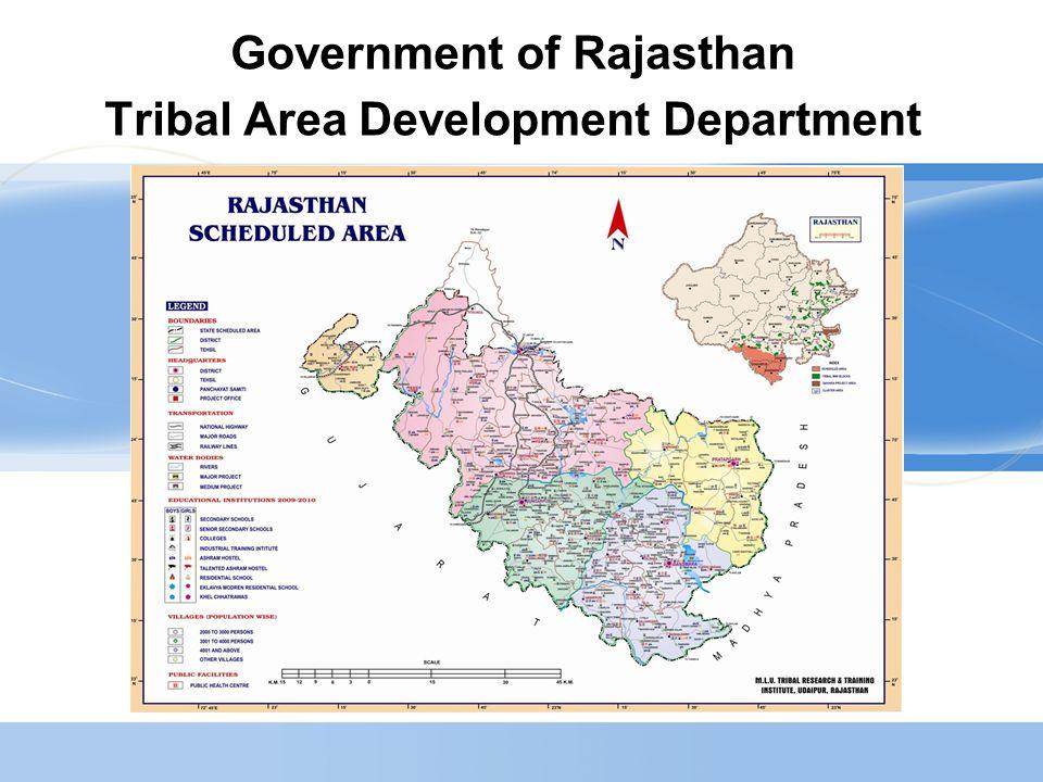 2 Population (Census-2001)  Rajasthan : –Total:565.07 Lacs2011 (686.21 Lacs) –S.T.