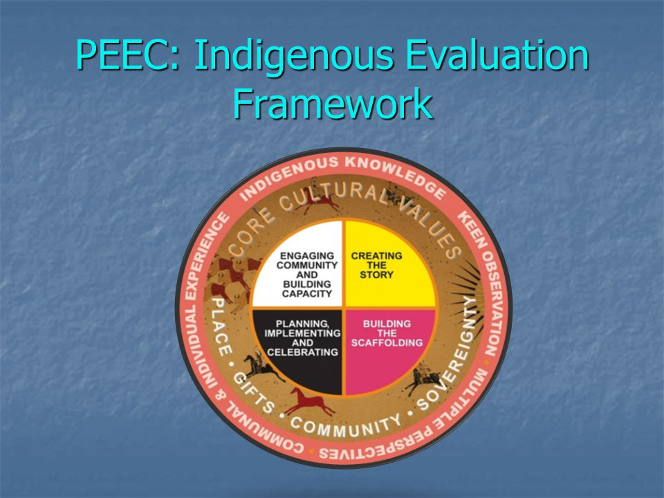 PEEC: Indigenous Evaluation Framework