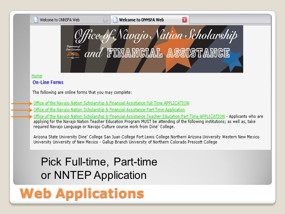 Online FNAs Click here to login.