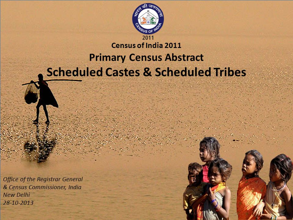 Scheduled Castes (States/UTs) (Percentage to total population) INDIA Source: Primary Census Abstract for Total population, Scheduled Castes and Scheduled Tribes, 2011 Office of the Registrar General & Census Commissioner, India