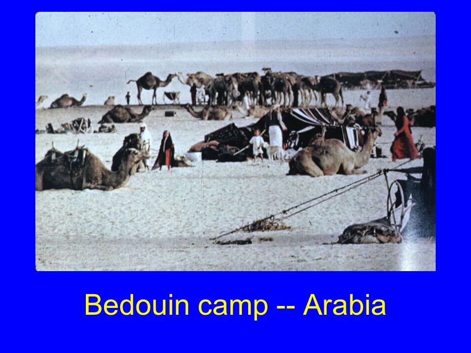 Bedouin camp -- Iran