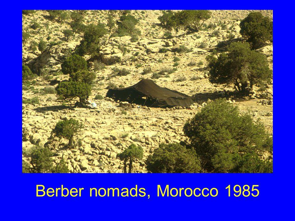 Berber nomads, Morocco 1985
