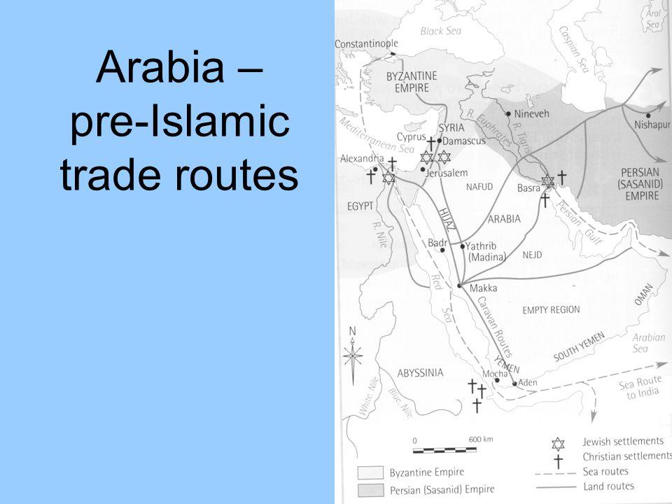 Arabia – pre-Islamic trade routes