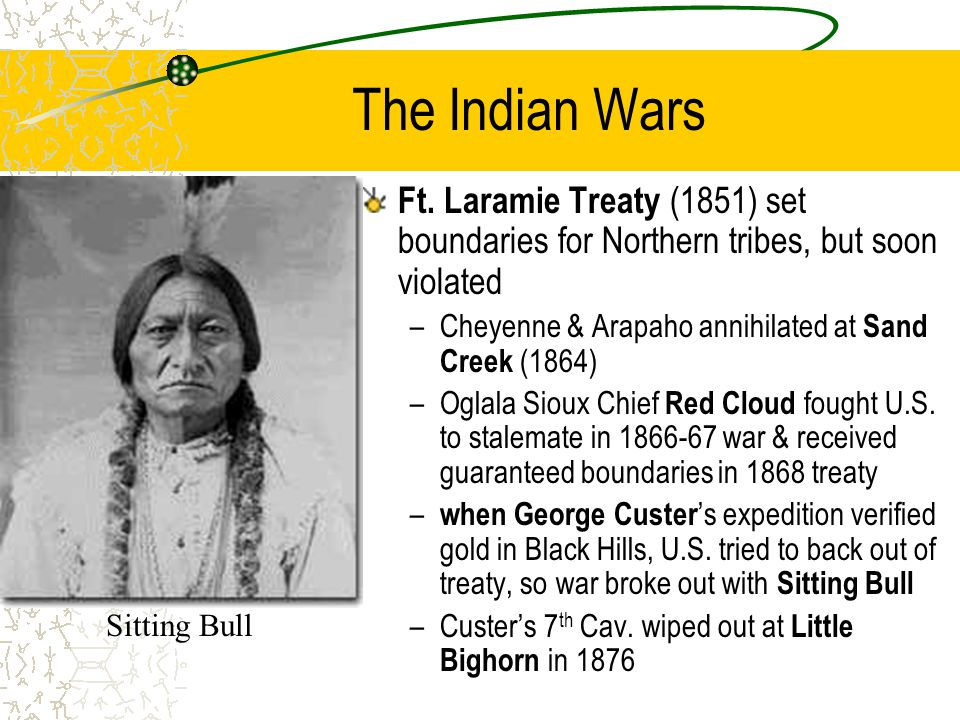 The Indian Wars Ft.