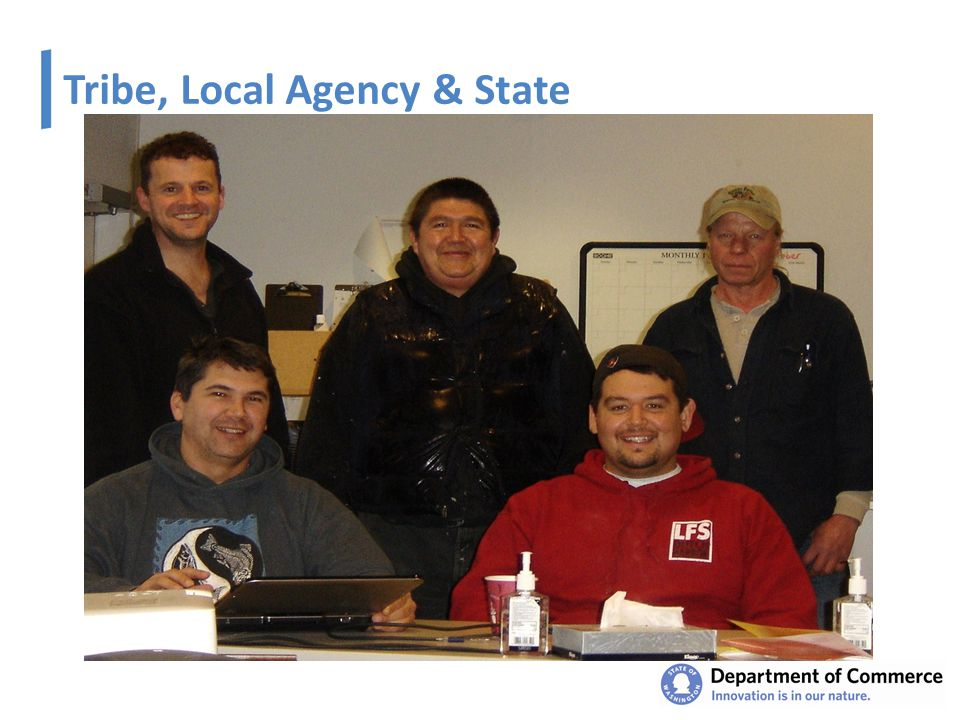 Tribe, Local Agency & State