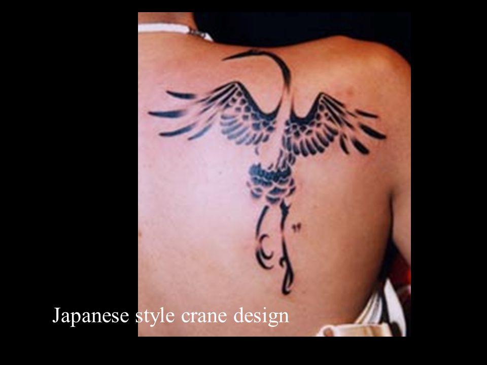 Japanese style crane design