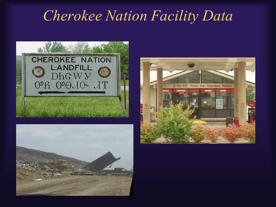 Cherokee Nation Facility Data