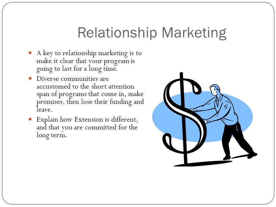 Customer Retention Marketing within Relationship Marketing Customer Retention Marketing (CRM) is the foundation of relationship marketing.